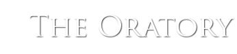 The Oratory, Birmingham Logo