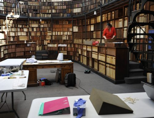Conservation of Cardinal Newman's Library